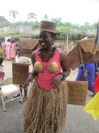 Clothing and bags made from plantain leaves